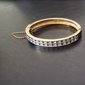 Vintage Swarovski Crystals Bangle